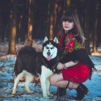 Русская красавица :: Daria_Fox _