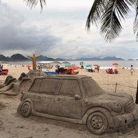 Бразилия. Песочные скульптуры в Рио. :: Елена Савчук