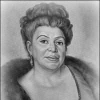 портрет Лоры Лозы. :: Надежда Ерыкалина
