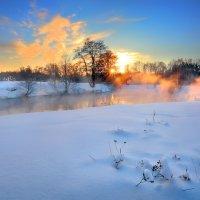 Очень морозный закат...4 :: Андрей Войцехов