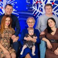 """Большая семья :: Первая Детская Фотостудия """"Арбат"""""""