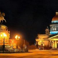 при свете фонарей :: Владимир Беляев ( GusLjar )