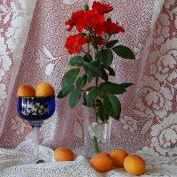 Натюрморт с абрикосами... :: Тамара (st.tamara)