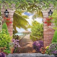 Тропическая терраса :: Vita Painter