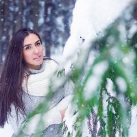 Зимний лес =) :: Ванда Азарова