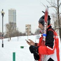 лыжник :: Светлана Прилуцких