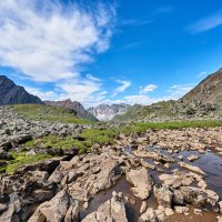 На краю висячей долины :: Виктор Никитин