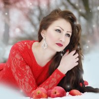 яблоки на снегу :: Olga Gushcina