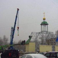 Не знал, что храм строится, начиная с купола :: Андрей Лукьянов