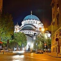 Храм Святого Саввы в Белграде :: Денис Кораблёв