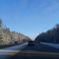 Зимняя дорога :: Мила