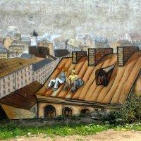 город на стене :: Евгения Eva