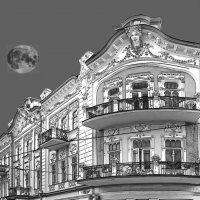 Евпатория и Луна. :: Александр Калинин