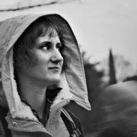 Девушка и привидение :: Ольга Мальцева