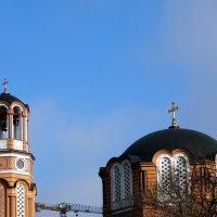 Колокольня и купол греческой церкви... :: Тамара (st.tamara)