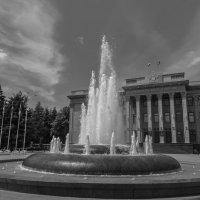 Фонтан на Пушкинской площади :: Алексей Михайленко