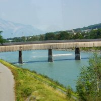 Старый деревянный мост :: Елена Павлова (Смолова)
