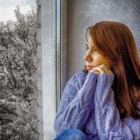 Грусть... :: Мария Шаталова