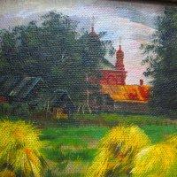 Сельская церковь. :: Александр Атаулин