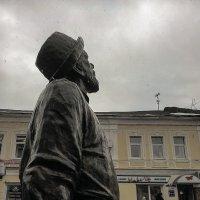 Циолковский смотрит в небо :: Дмитрий Коноплев