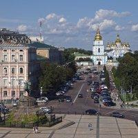 Киев с Софийской колокольни :: Николаева Наталья