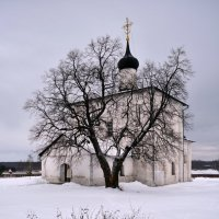 Церковь Бориса и Глеба 1152г село Кидекша :: АЛЕКСАНДР СУВОРОВ