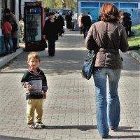Счастливое детство -которого нет. :: Николай Сапегин