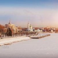 Город в зимних оковах :: Юлия Батурина