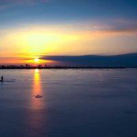 Зимний рассвет :: Сергей Титаренко