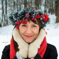 Девушка-Зима :: Оксана Грищенко