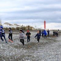 Тренировки на пляже :: valeriy khlopunov