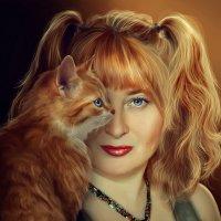 Автопортрет в стиле Flora Borsi :: Лана Минская