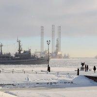 Январь в Кронштадте :: Владимир Филимонов