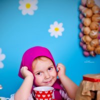 "Фотопроект ""Маша и медведь"" :: Юлия Романенко"