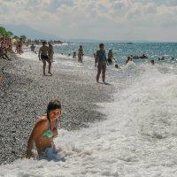 Солнце, воздух и вода. :: Алексей Окунеев