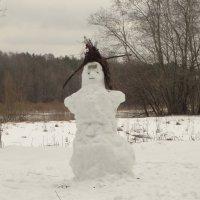 вот такой вариант снеговика :: Михаил Жуковский