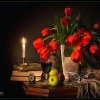 С тюльпанами :: Дмитрий Motorin