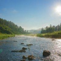 Утро на реке. :: Сергей Бурнышев