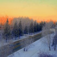 Утро в городе. :: Мила Бовкун