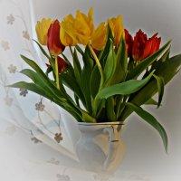 Весенний букет.... :: Galina Dzubina
