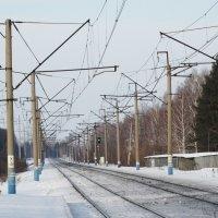 Железная дорога... :: Александр Подгорный