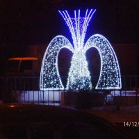 зимний фонтан :: Александра Полякова-Костова