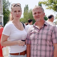 На празднике вина и винограда :: Владимир Болдырев