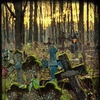 Вечер на старом кладбище :: Цветков Виктор Васильевич