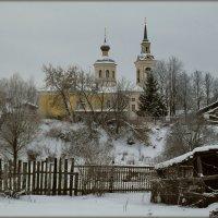 Тишина. Ильинская церковь г. Нерехта осн. 1214 г. :: Святец Вячеслав