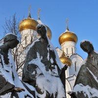 В снежных одеяниях :: Николай Белавин