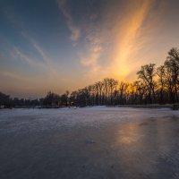 замерзшее озеро :: Марат Макс