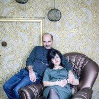 мой любимый дядя с женой :: Милана Михайловна Саиткулова