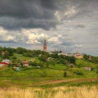 Вид на Иоанно-Богословский Пощуповский монастырь :: Константин