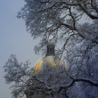 Купол исаакивского собора :: Анна Кокарева